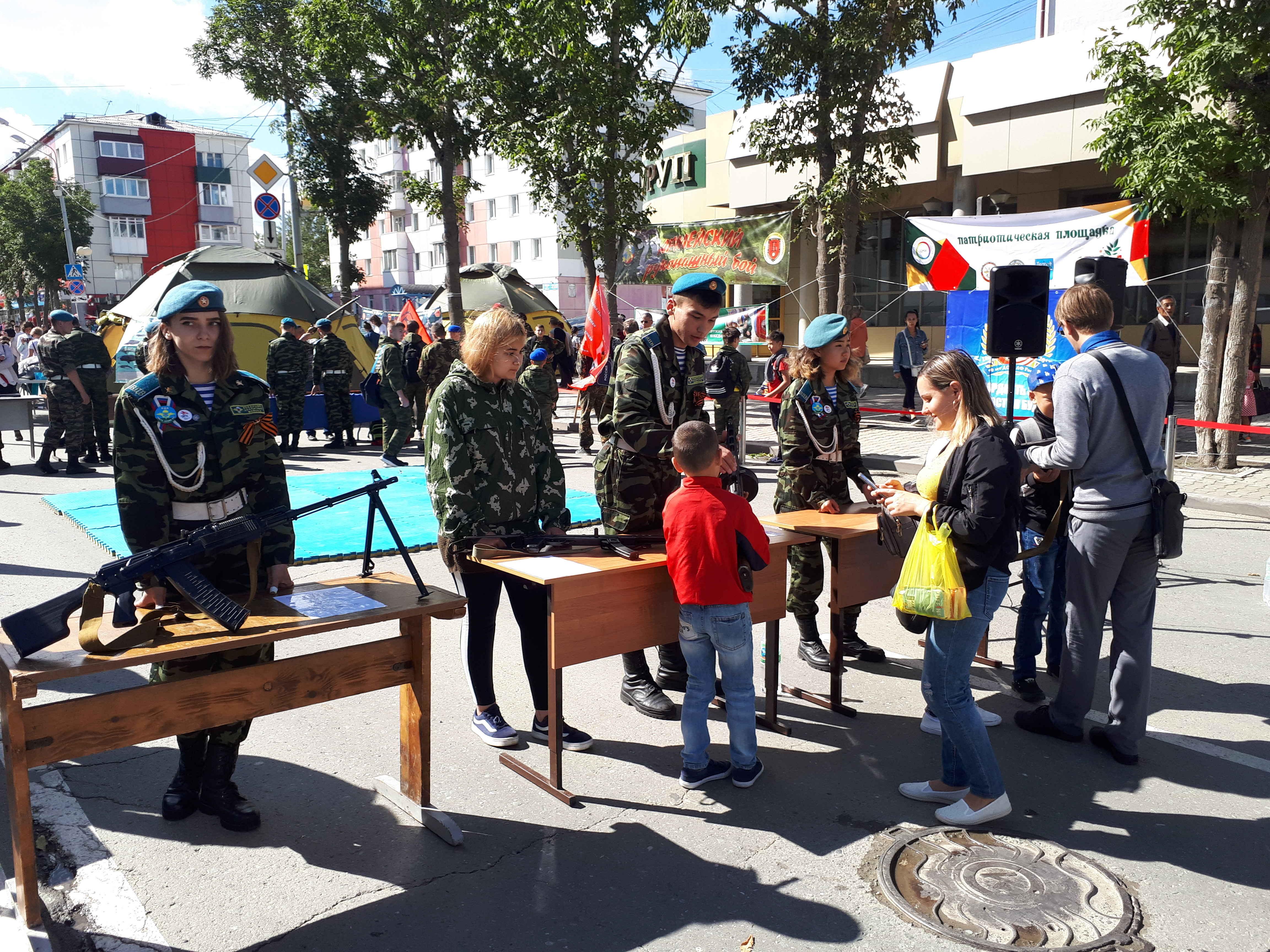 Участие в праздновании 136-годовщины города Южно-Сахалинска.