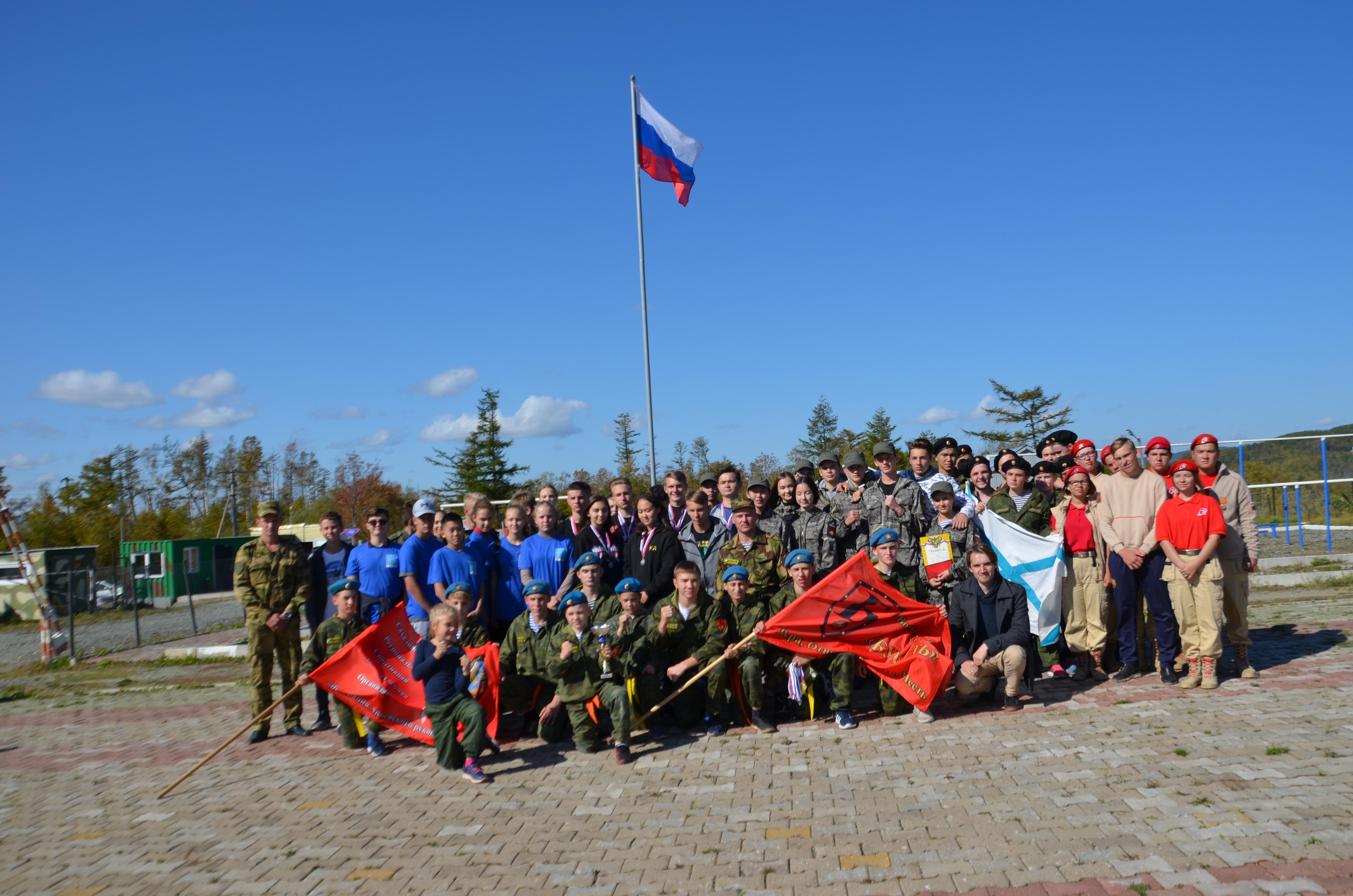 Военно-патриотическая игра «Родине служить почетно»